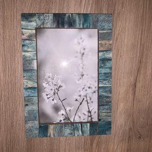 Teal frame 4x6